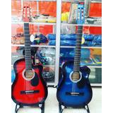 Guitarras Acusticas Regalo Estuche Y Vitelas