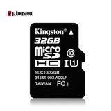 Memoria Micro Sd 32 Gb Kingston Original Clase 10 Inc Iva