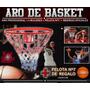 Tablero-aro De Basket Con Malla Mas Balon