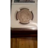 Moneda 4 Reales 1862 Barre Encapsulada Srn Falsa Réplica