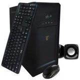 Combo Atx (case, Teclado, Mouse Optico, Parlantes)