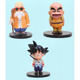 Munecos De Coleccion Dragon Ball Z 3 Piezas 100% Originales