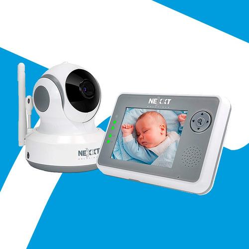 Acp - Camara Wifi + Monitor Para Bebe Nexxt 2 Años Garantia