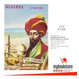 Algebra De Baldor, Full Color Pasta Dura Cosida Libro Nuevo