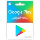 Google Play Store Gift Card Tarjeta Al Mejor Precio