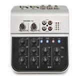Mini Consola De Audio 2 Canales Soundking