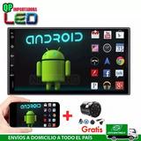 Radio Doble Din Android 8.1 Pantalla Bt  Gps Camara Gratis