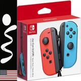 Nintendo Switch Control Joy-con Neon Red / Blue Original
