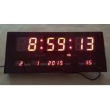 Reloj Led Digital, Fecha, Termómetro 36cm Visibilidad 40m