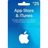 App Store & Itunes Gift Card Tarjeta  Al Mejor Precio