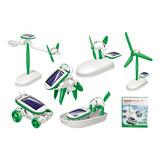 Niños Juegos Kits Educativos De Robots Solares 6 En 1