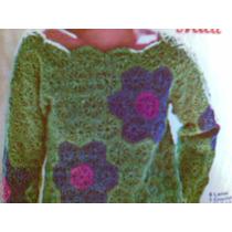 Blusa Divertida Crochet