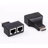 Cable Extender Extensor De Hdmi  30mts Full Hd Utp Cat 5/6