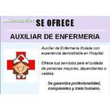 Servicios De Auxiliar De Enfermería