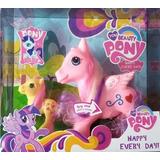My Little Pony Niñas, Sonido Y Luz, 20cm Unicornio, Juguete.