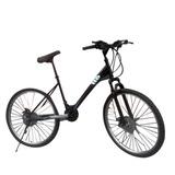 Bicicleta Gti City Aro 26 Freno De Disco  Incluido Iva