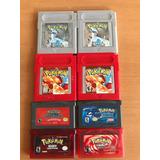 Juegos Gameboy Pokemon Rojo Plata Zafiro Ruby