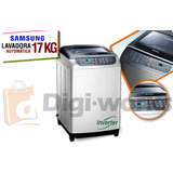 Lavadora Samsung 17kg/36lb Inverter Incluido. Iva.