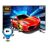 Samsung 58 Smart Tv 4k Hdr Wifi + G R A T I S Soporte Pared