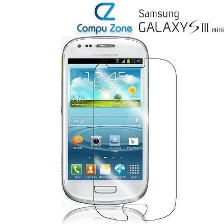 Mica Transparente Para Samsung Galaxy S3 Mini I8190 + Paño