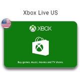 Xbox Live $15 - $50 Card