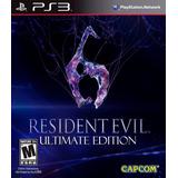 Resident Evil 6 + Dlcs - Playstation 3 Digital - Español