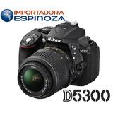 Camara Nikon Profesional D5300 24.2mp Abatible + Memoria