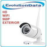 Camara Ip Exterior Inalambrica 960p Hd Wifi Cctv Dvr Nvr Seg