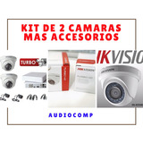 Kit De 2 Camaras Hdtvi Incluye Accesorios