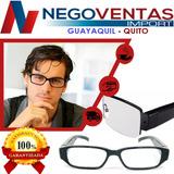 Lentes Gafas Espia Camara Discreta Micro Sd Hasta 32gb