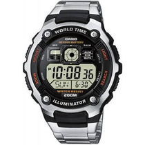 7c61479030a5 Reloj Casio Caballeros Ae-2000 Coleccion Lluminator En Caja