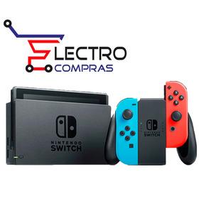 Nintendo Switch Neon Blue Entrega Inmediata