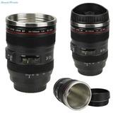 Taza Lente Cámara Tipo Canon Con Acero Inoxidable Nikon