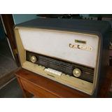 Antigua Radio Grande Marca Philips, Es A Tubos, Funcionando
