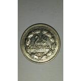 Excelente Estado! 2 1/2 Centavos 1928 - Ecuador
