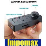 Camara Hd Boton Espia Usb Graba Audio Video @16gb Recargable