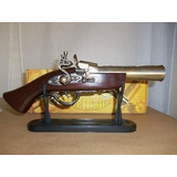Encendedor Fosforeraen Forma De Pistola Antigua 36cm