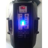 Caja Amplificada Marca Npi 15p Con Paral Y Microfono