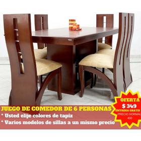 Fabricamos Su Juego De Comedor Lineal 6 Pax + Entrega Quito