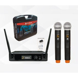 Microfono Italy Audio Par Inalambrico Uhf Doble Itl-200