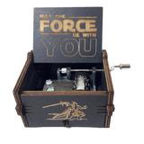 Caja Musical De Star Wars Color Negro De Colección