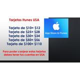 Tarjetas Itunes App Store Usa Envio Gratis Varios Precios