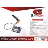 Módulo Gsm Gprs Sms Sim 800l Arduino Antena Externa