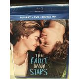 The Fault In Our Stars Bluray Original Nuevo Sellado
