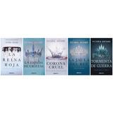 Saga La Reina Roja Victoria Aveyard Total 5 Libros Oferta