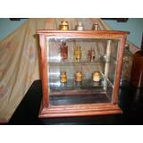 Antigua Vitrina De Madera, Para Exhibir Botellas De Farmacia