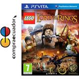 Lego The Lord Of The Rings Ps Vita Original Sellado Psvita