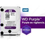 Disco Duro Vídeo Vigilancia Western Digital Wd Purple 1tb,..