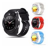 Reloj Celular Smartwatch V8 Camara Memoria Android Llamadas