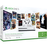 Xbox One S 1tb De Paquete Completo, Incluye 4 Juegos